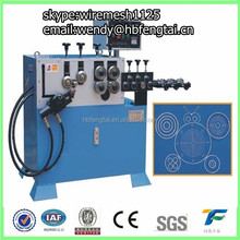 cnc metal wire forming machine O D ring with servo motor