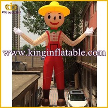 Outdoor Inflatable Boy Cartoon Character, Advertising Giant Inflatable Characters