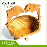 Animal shaped basket cheap hanging fruit basket