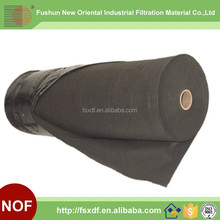 Glassfiber Graphite Filter cloth For Pulse jet filter bag