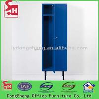 Heavy duty metal locker with legs