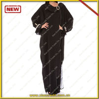 Reasonable Price for Modesty Beautiful Islamic Dubai Abaya Wholesale islamic clothing abaya sleeves designs KDT508