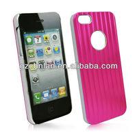 3D stripe metal aluminium case for iPhone 5 cover