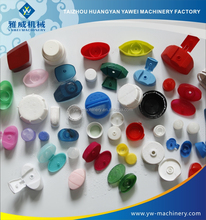 YW household 6-cavity hot runner flip top cap mould for cosmetic shampoo bottle