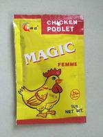 10g/sachet, 600sachet/ctn package chicken soup base powder