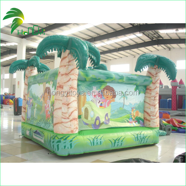 inflatable green slide  (5)