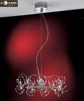 Modern Chandeliers Lustre Design Pendant Light Ceiling Lamp Chandelier Crystal Suspended Lighting CZ9051/6
