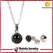 Wholesale ebay hot sale heart shape african beads jewelry set