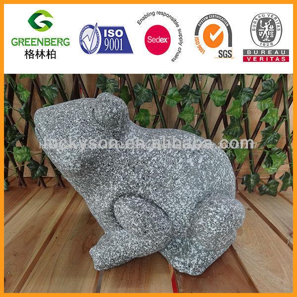 polyresin pedra como o <span class=keywords><strong>sapo</strong></span> ornamento do jardim