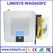 LINKSYS WAG54GP2 WiFi Wireless Dual WAN Balancing Router VPN phone adapter voip gateway voip gsm gateway
