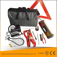 2015 hot selling auto tools set roadside emergency kit