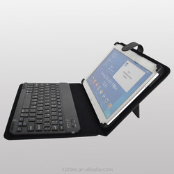 Customize 13.3inch tablet pc leather keyboard case