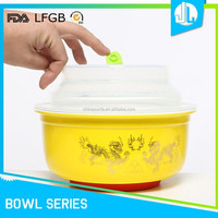 Various kinds microwave ceramic soup bowl with lid