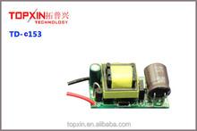 internal led 12v driver 5w 300ma isolated led bulb driver