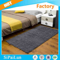 Machine made low price Plain style High quality fashion chenille carpet