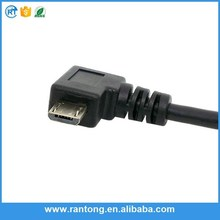 Factory sale custom design angled usb angle cable for wholesale