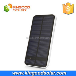 Super intelligent Touch Screen Frosted Outer Shell Dual USB universal Solar Power Bank mobile Charger 12000mah