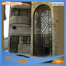 chain link fence iron gate door prices fencing hongshan manufacturer