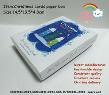 Christmas cards series with entire package