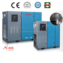2015 Hot selling 37kw belt driven rotary screw air compressor on sales