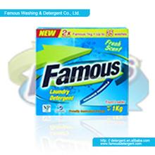 Famous detergent washing powder