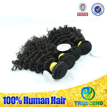 """Unprocessed virgin human 6A12-34""""can be dyed&ironed soft&full wholesale brazilian virgin remy artificial human hair"""