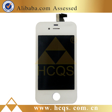 Factory lowest price front screen assembly for iphone 4s,lcd screen completed for iphone 4s