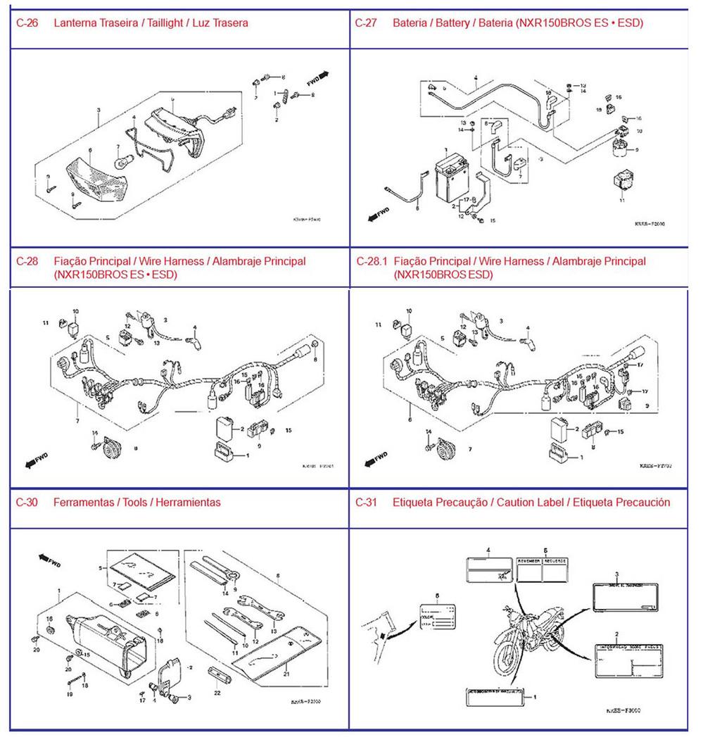 Erstausrüster-qualität motorradteile, nxr125 borss für honda ...