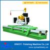 Marble slab edge cutting machine