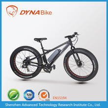 Eurobike Awarded high-end 48V, 800W Chinese fat electric beach cruiser bicycle with large LCD meter