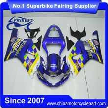 FFKSU002 Fairing Kit For GSXR750 GSXR600 2001 2002 2003 Blue Movistar