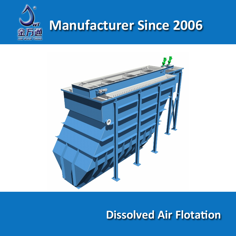 Daf Lamella Plate Dissolved Air Flotation System For Waste