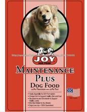Bolsas de alimentos para mascotas
