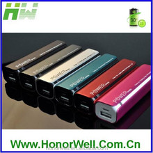 Portable Mobile Power BANK Manufacture 2600mAh Bank Power HW-PB-140