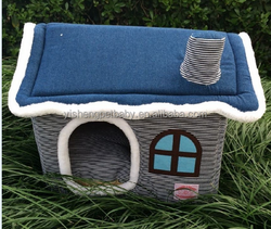 dog house and dog bed