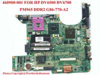 Original laptop motherboard for hp pavilion dv6700 motherboard 460900-001 PGA478 DDR2 G86-730-A2 Fully tested