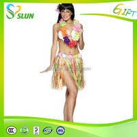China wholesale with flower hawaiian skirt name