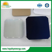 5 inch mono solar cell 3.4w-3.5w,back contact solar cell,made in USA,dog bones provided