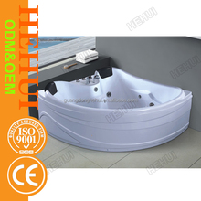 RC-D768 white marble soaking bath tub and whirlpool bathroom massage bathtubs with marble stone bathtub