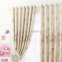 Polyester textile jacquard curtain fabric
