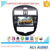 touch screen car dvd mp3 mp4 player for NISSAN TIDA AUTO 2011 with reversing camera/car cassette/cd dvd/gps