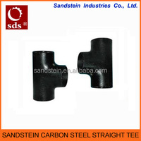 Butt Weld Carbon Steel Straight Tee
