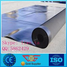 HDPE geomembrane,waterproof black HDPE sheet for pond liner 2.0mm