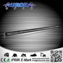 anti high temperature AURORA 50inch single row light auto led off road light bar