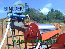 Supply mineral processing gold ore magnetic separator Machinery in mineral processing projects -- Sinoder Brand