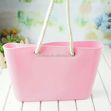2015 hot sell silicone tote bag ,silicone beach bag,silicone rubber bag