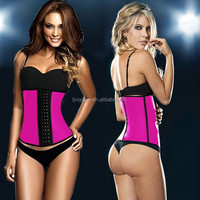 High Quality Latex 3 Hook Waist Trainers, waist Underwear Shapers