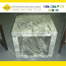 Imperial Green custom made marble coffee table