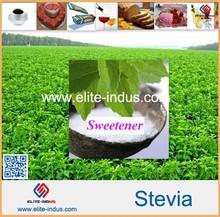 no calories and 100% natural sweetener stevia