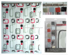 new and hot sale Striped pattern bath shower windows curtain factory directly supply